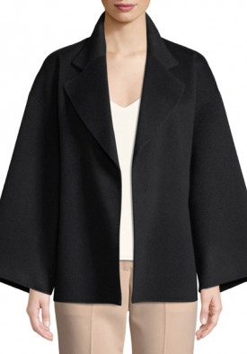 Theory Bell-Sleeve Wool & Cashmere Belted Jacket