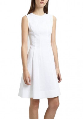 Theory Modern Tea Organic Crunch Linen Dress