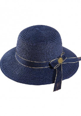 Tory Burch Short-Brim Straw Sunhat