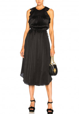 Ulla Johnson Eveline Silk Midi Dress