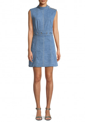 Veronica Beard Nico Denim Mini Dress