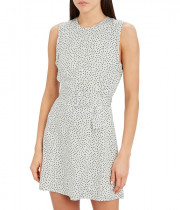 Alexis Dutsa Belted Polka Dot Mini Dress