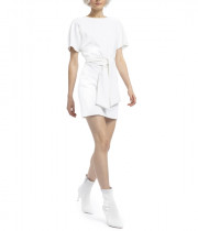 Alice + Olivia Caven Cape Sleeve Mini Dress