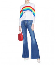 Alice + Olivia Ruthy Be a Rainbow Cardigan