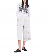 Alice + Olivia Ruthy Stace Knit Cotton-Blend Cardigan