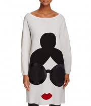 Alice + Olivia Stace Face Sweater Dress