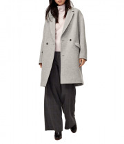 Aritzia Wilfred Lyon Double-Breasted Wool Coat