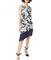 Club Monaco Quynh Floral Asymmetric Dress