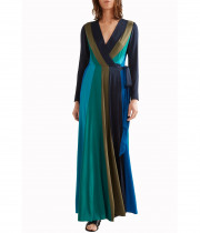Diane von Furstenberg Penelope Long-Sleeve Wrap Dress