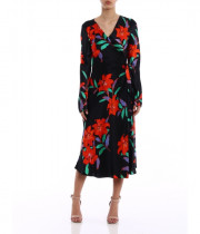 Diane von Furstenberg Tilly Argos Floral Wrap Dress