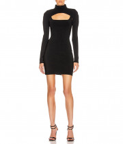 Dion Lee Stirrup Fitted Mini Dress