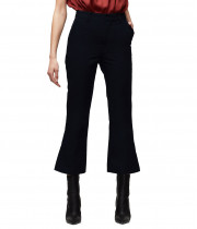 Frame Cotton Blend Side Slit Pants