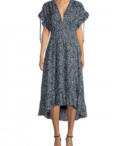 Robert Rodriguez Marie Ditsy Floral Midi Dress