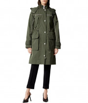 Kenzo Mid-Length Lightweight Parka Coat
