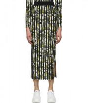 Kenzo Phoenix Rib Knit Midi Skirt