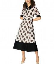 L.K. Bennett Royal Ascot Pierre Spot Print Dress