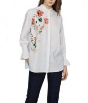 Maje Cravi Floral Print Shirt