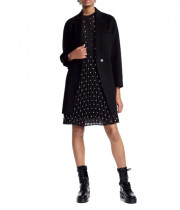 Maje Galami Double-Faced Wool Coat