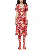 Marc Jacobs x Maisie Cousins The Love Midi Silk Dress