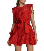 Marissa Webb Melodie Lace Mini Dress