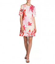 Marni Clematis Floral Print T-Shirt Shift Dress