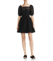 Rebecca Taylor Amora Eyelet Cotton Dress