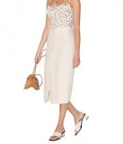 Reformation Fredo Linen Skirt