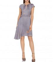 Reiss Zoe Printed Dress