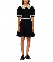 Sandro Evonna Knitted Mini Dress