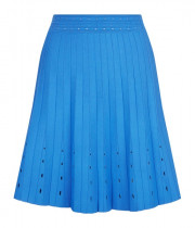 Sandro Eyelet Quincy Top & Izzy Pleated Skirt