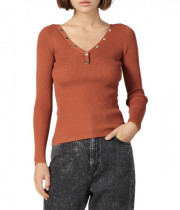 Sandro Justy Ribbed Sweater