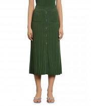 Sandro Meva Rib-Knit Midi Skirt