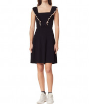 Sandro Ristian Frilled Short Dress