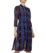 Ted Baker Colour By Numbers Laven Robot-Check Shirtdress