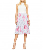 Ted Baker Cornala Babylon Pleated Skirt Dress