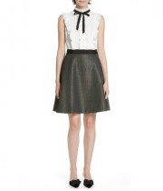 Ted Baker Karoll Ruffle Bow Skater Dress