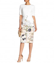 Ted Baker Layli Gem Garden Bodycon Dress