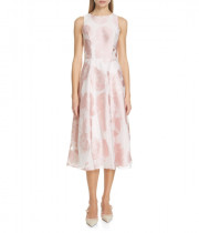Ted Baker Wylieh Jacquard Midi Dress