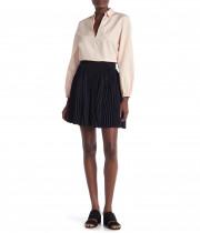 Vince Pleated Mini Skirt