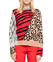 Zadig & Voltaire Delly Bis Animal Motif Sweater