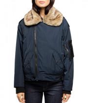 Zadig & Voltaire Kassy Faux Fur-Trim Parka Jacket