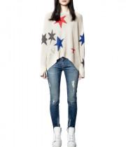 Zadig & Voltaire Markus Star Cashmere Sweater