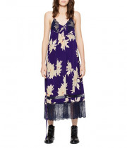 Zadig & Voltaire Roses Blossom Silk Dress
