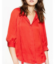 Zadig & Voltaire Touch Satin Tunic